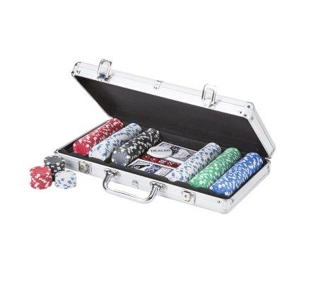 Mallette de Poker Aluminium 300 jetons