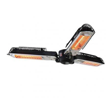Chauffage électrique Favex 3 têtes pour parasol 2000W 8m2 de chauffe.