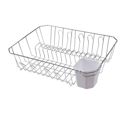 Egouttoir à vaisselle métal et plastique