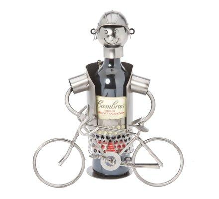 Porte bouteille Métal enfant avec velo