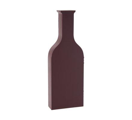 Coffret vin en bois forme bouteille 3 accessoires