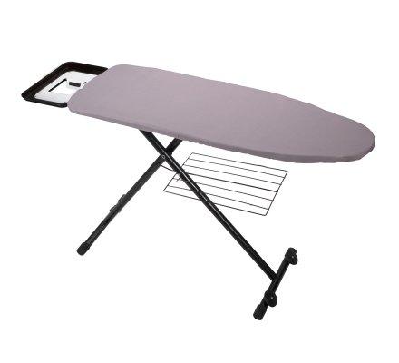 Housse pour table à repasser 2 couches avec élastique coton et polyester 160x60cm coloris aléatoire