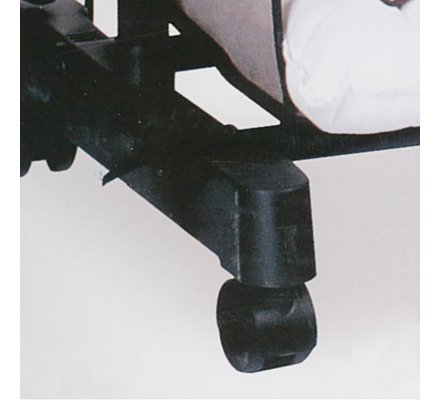 Portant à vêtements ajustable sur roulettes avec 6 casiers rangement intégrés