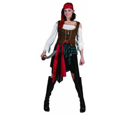 Déguisement femme pirate taille S/M