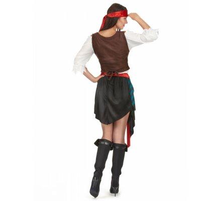 Déguisement femme pirate taille M/L