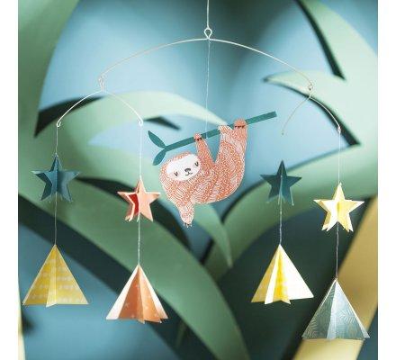 Suspension, décoration mobile en papier pour chambre d'enfant 33cm