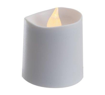 Lot de 16 bougies Led blanc chaud scintillant 2 tailles D4cm