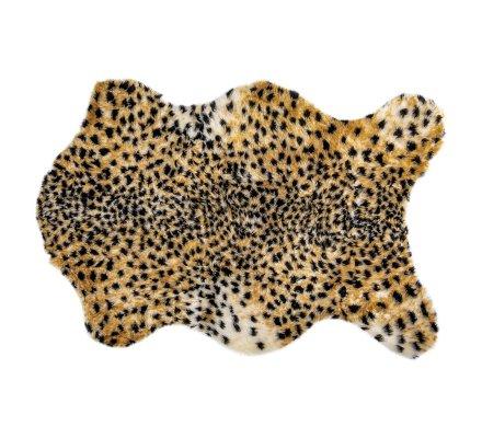 Peau de léopard déco synthétique 70x100cm