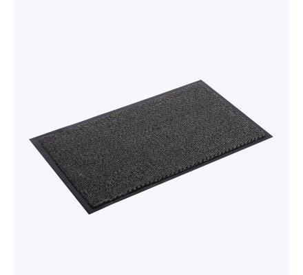 Tapis propreté anti-salissures, antidérapant lavable en machine 40x60cm gris