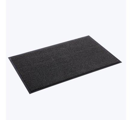 Tapis propreté anti-salissures, antidérapant lavable en machine 50x80cm gris