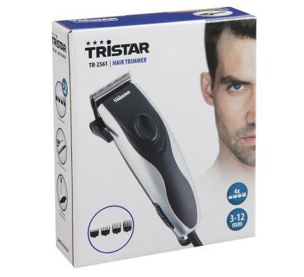Tondeuse cheveux Tristar lames réglables 3-12mm avec 4 sabots