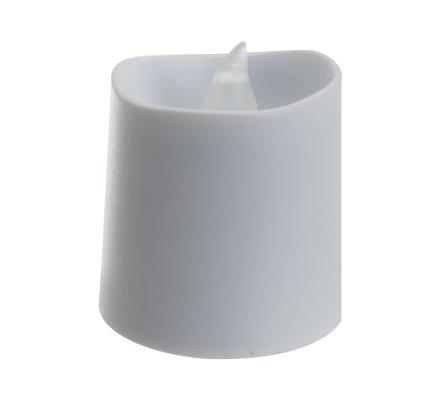Lot de 12 bougies Led blanc chaud scintillant 4cm