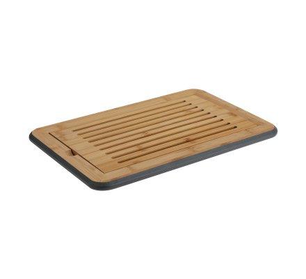 Planche à pain en bambou avec grille amovible 39x25,5cm