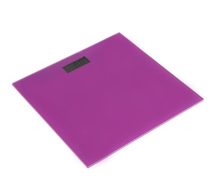 Pèse-personne, balance digitale 30x30cm coloris aléatoire