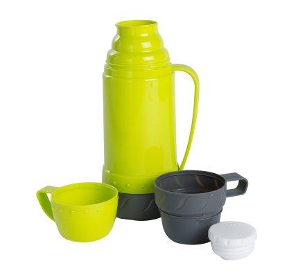Bouteille isotherme double tasse capacité 1L coloris Vert