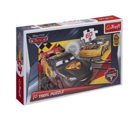 Puzzle Trefl 60 pièces CARS 33x22cm
