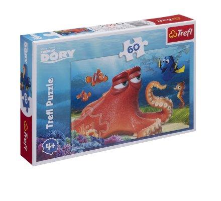Puzzle Trefl 60 pièces Dory, monde de Némo 33x22cm