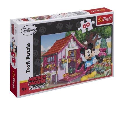 Puzzle Trefl 60 pièces Mickey 33x22cm