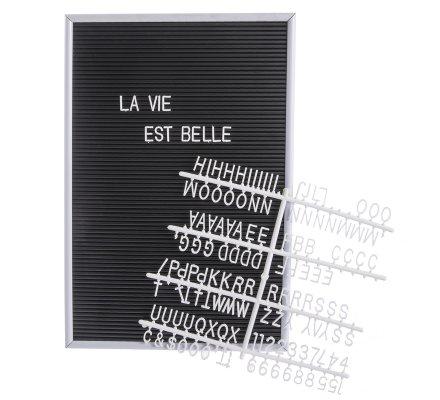 Tableau à lettres, messages 143 lettres et symboles 30x45cm