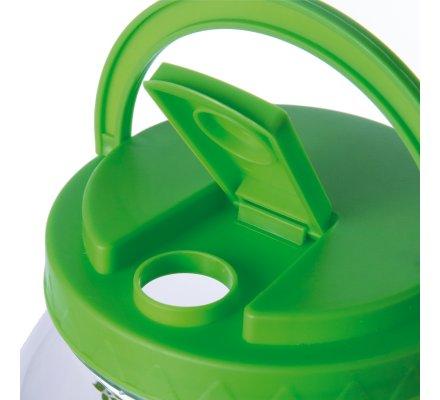 Fontaine, distributeur de boisson 3,5L en plastique avec robinet et 20 glacons réutilisables coloris vert