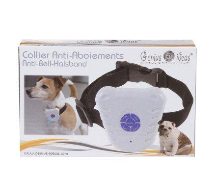 Collier pour chien anti-aboiements à ultrasons ajustable