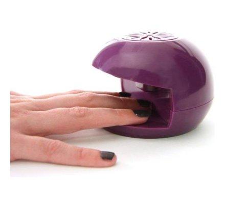 Sèche ongles électrique compact, séchage rapide 60 secondes coloris aléatoire