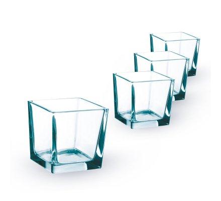 Lot de 4 Cubes (L)8x(l)8x(h)8cm