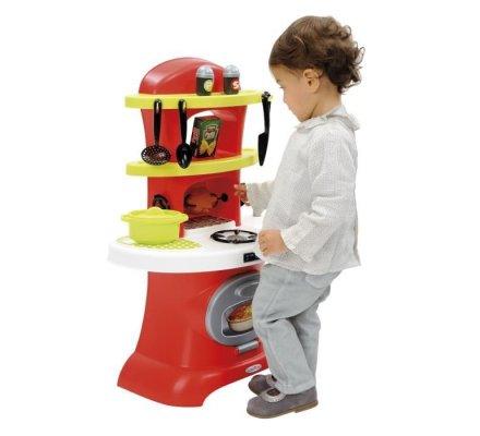 Rotisserie, cuisine pour enfant 13 pièces marque Ecoiffier 50x26x69cm