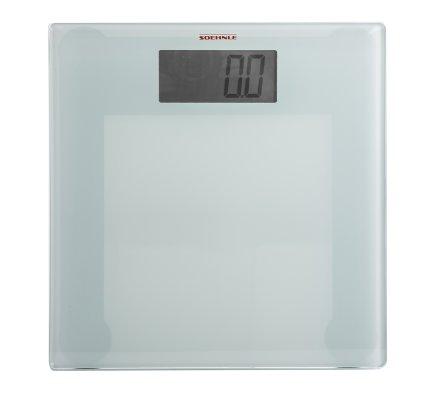 Pèse-personne, balance digitale Soehnle plateau verre 200kg
