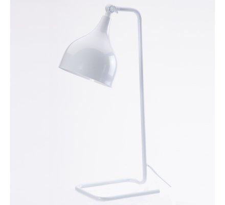 Lampe à poser design filaire en métal blanc H49cm