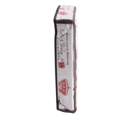Pouf pliant, coffre de rangement intissé motif parisien sur fond blanc 30x30x30cm