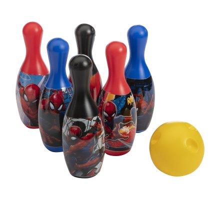 Jeu de quille, bowling Spiderman 6 quilles 1 boule