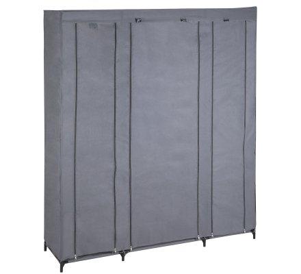 Penderie, dressing, armoire de rangement modulable 11 compartiments 175x150x45cm