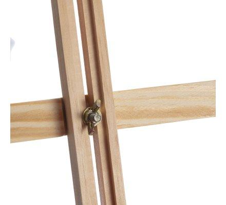 Chevalet de table en bois réglable 32x27x74cm