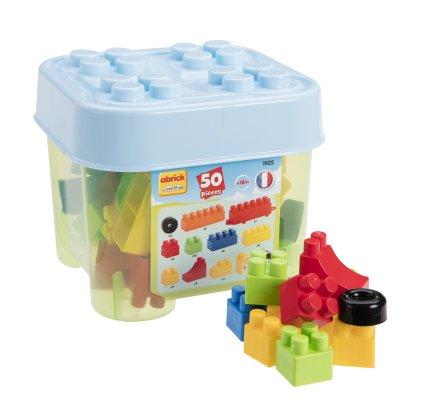 Jeu de construction pour enfant avec coffre de rangement 50 pièces Ecoiffier