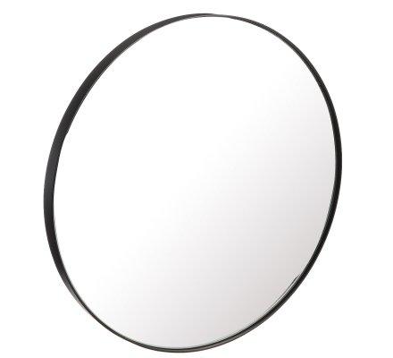 Miroir design style industriel en métal rond D35cm