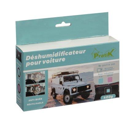 Déshumidificateur pour voiture anti-buée réutilisable