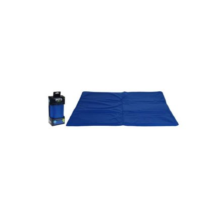 Tapis rafraîchissant pour chien 50x65cm bleu