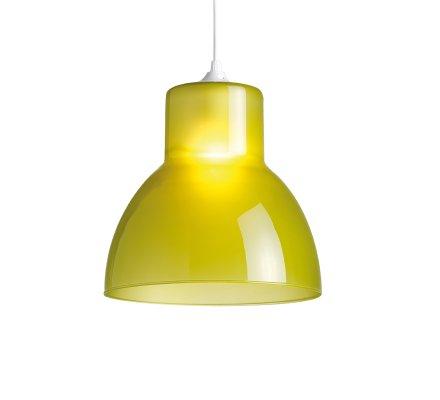 Suspension STUDIO 25cm Verre - Vert Olive