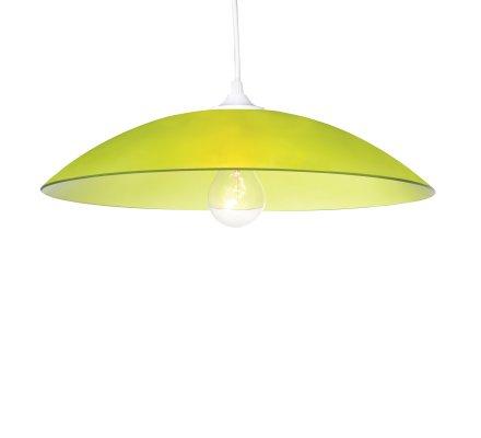 Suspension RONDO COLORS en verre - Vert Olive