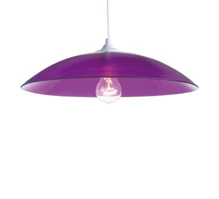Suspension RONDO COLORS en verre - Violet