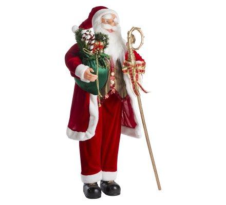 Figurine Père Noël grand modèle 120cm