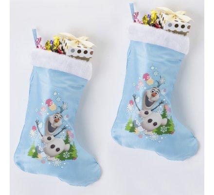Lot de 2 bottes de Noël Disney la Reine des neiges