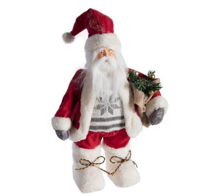 Figurine décorative Père Noël H43cm