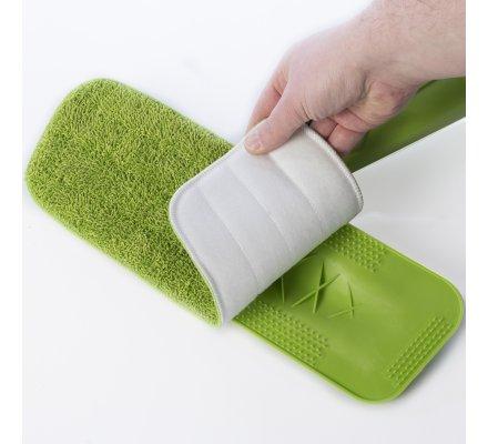 Balai pulvérisateur spray avec 3 mops microfibre lavables offertes