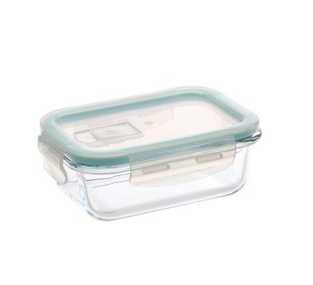 Lot de 3 boîtes de conservation hermétiques en verre borosilicate