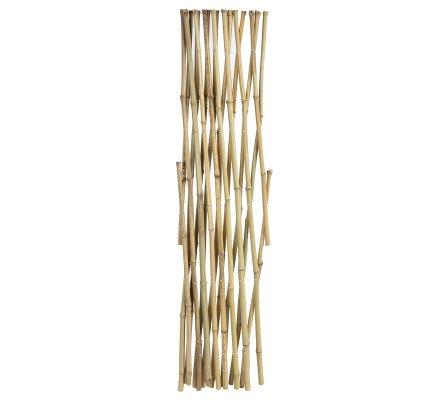 Treillis, barrière extensible en bambou 90x180cm
