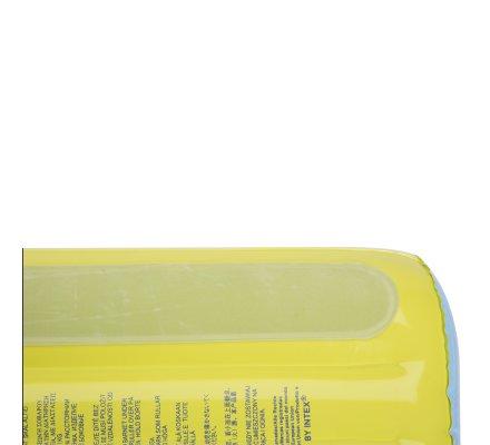 Matelas à langer gonflable Intex gonfleur inclus 79x58x13cm