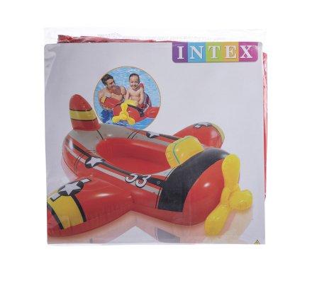 Bouée pour enfant Intex en forme d'avion 119x114cm