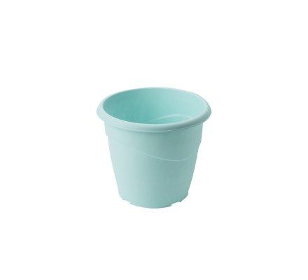 Cache-pot Plastique bleu pastel D25cm